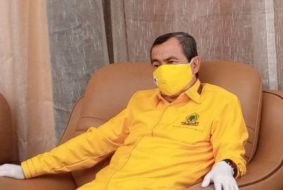 Besok, Syamsuar Wajibkan Semua Anggota Fraksi Golkar DPRD Bengkalis Hadir di Duri