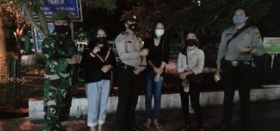 Dari Patroli PPKM di Kecamatan Pekanbaru Kota, Babinsa: Disiplin Prokes, Jangan Mudik!