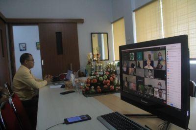 Fekon Unilak Gelar Webinar Tentang  Praktek Perubahan PSAK Perubahan 45 Ke ISAK 35
