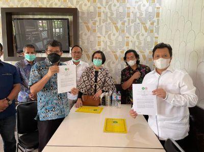 Jalin Kerjasama Dengan IDI Riau, Sejarah Bagi FH Unilak