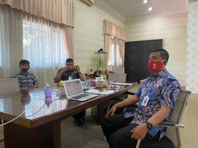 Kadispora Riau jadi Narasumber Webinar Bappenas RI, ini Pemaparannya