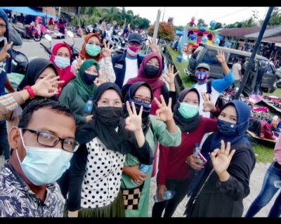 Kampanye Didua Titik, Program KasBagus Disambut Antusias Masyarakat Bantan