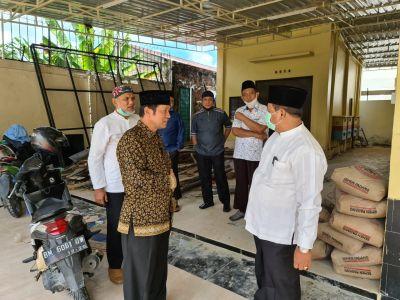 Pengurus Masjid Nurul Ibadah Silaturrahmi ke Ketua Harian Badan Pengelola Arrahman