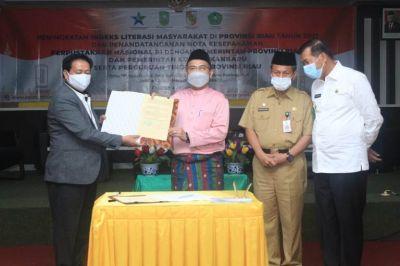 Perkuat Literasi di Tanah Melayu, ini yang dilakukan Perpusnas RI di Provinsi Riau