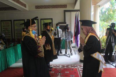 Pertama di Riau, Unilak Gelar Wisuda Secara Drive Thru