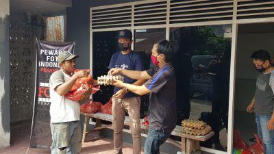 PFI Bersama Minamas Bagikan Paket Sembako di Pekanbaru