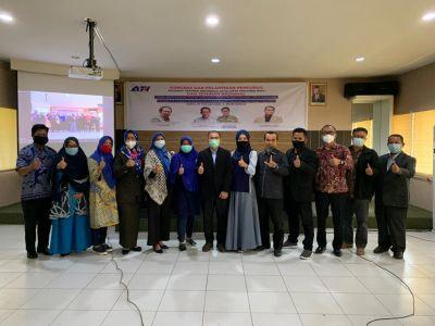 Rektor Unilak Dikukuhkan Sebagai Ketua Asosiasi Trainer Indonesia Wilayah Riau