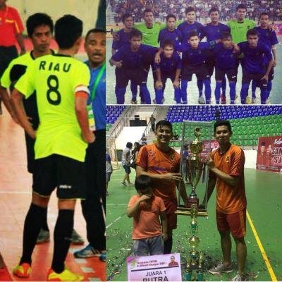 Terima Mandat dari AFP Riau, Mantan Pemain PON Riau Ini Siap Majukan Futsal Kota Dumai